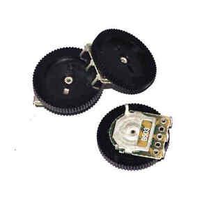 50PCS 50K Ohm B503 Gear Pulley Wheel Audio Potentiometer 16x2mm