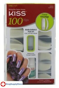BL Kiss 100 Tips Curve Overlap Long Length - Two PACK