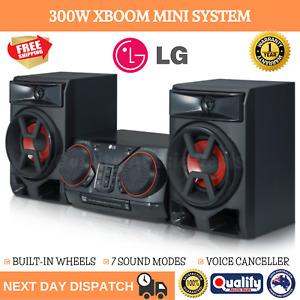 RMS 300W Bluetooth Mini HiFi System Jukebox USB Port AUX Jack FM Radio CD Player