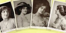 ☆ EDWARDIAN THEATRE ACTRESS - LILY ELSIE ☆ 1900s Postcards LIST 15