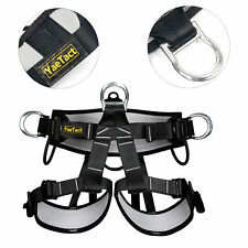 Pro Tree Carving Rock Climbing Harness Equip Gear Rappel Rescue Safety Seat Belt