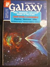 Galaxy, September 1975 [Single Issue Magazine] [Jan 01, 1975] Larry Niven; Jer..