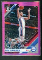 2019-20 Ben Simmons Panini Donruss Optic Pink Hyper