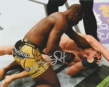OVINCE SAINT PREUX SIGNED AUTO'D 8X10 PHOTO UFC 197 FIGHT NIGHT STRIKEFORCE A