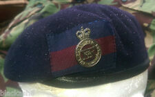 Blues & Royals Household Cavalry Beret & Bronze Cap Badge Sizes 56-62