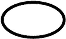 Nissan/INFINITI 17342-CE800 Seal O Ring, Fuel Gauge. .