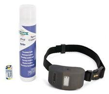 Solutions anti-aboiement noir en tissu pour le dressage des chiens