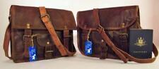 "Handmade Goat Leather 11"" Satchel iPad Bag SSP/R Billy Goat Designs"