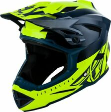 Fly Racing 2019 Kids Youth Default Dither MTB Downhill BMX Helmet Teal / Yellow