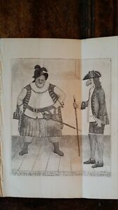 1789 SATIRICAL PRINT JOHN KAY  SHAKESPEARE FALSTAFF BARDOLPH HENDERSON CHARTERIS