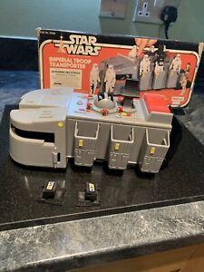 Vintage Star Wars Imperial Troop Transporter 1979 - Super Rare Palitoy Version
