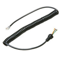 MH-48 MH-42 6pin Microphone Cable Cord Wire YAESU FT-7900R/1900R FT-8900R Radios