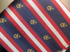"US Seller New 10"" 100% Silk Pocket Square Navy Red Grey Nautical Gold Anchors"