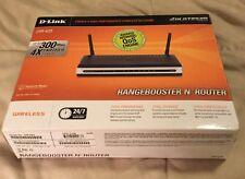 D-Link RangeBooster N DIR-625 300 Mbps 4-Port 10/100 Wireless N Router (DIR-625)