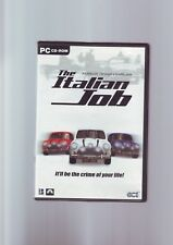 THE ITALIAN JOB - PC GAME OF THE FILM MOVIE - ORIGINAL & COMPLETE WITH MANUAL