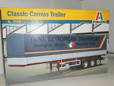 ITALERI SEMIRIMORCHIO TI NI EUROPEAN TRANSPORT CANVAS TRAILER 3908 1/24 351407