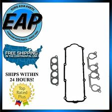 For Vw Cabrio Golf Jetta Passat 2.0L 4cyl Valve Cover Intake Gasket Set New