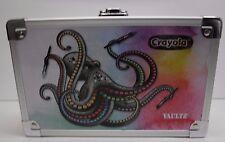 Vaultz Crayola Octopus Locking Pencil  Box with 2 Keys New