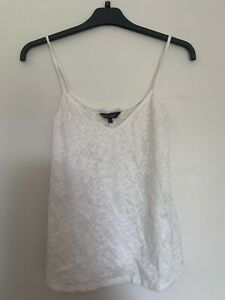New Look White Lace Cami