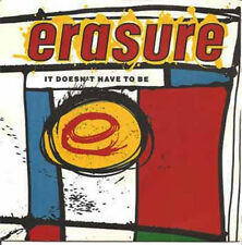 ERASURE - It Doesn't Have To Be (ps) 7""