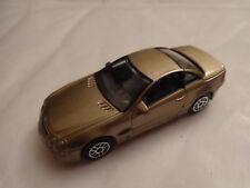 1/59 REALTOY CLASSIC - MERCEDES BENZ SL COUPE GOLD DIECAST CAR