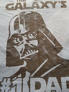 mens size LARGE  the galaxys # 1 DAD  tee [STAR WARS]  LAST ONE