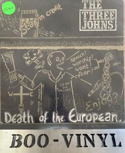 "Three Johns Death Of The European UK 7"" vinyl single record ABS034 EX Con"
