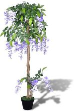 #sartificial Wisteria With Pot 120 Cm Fake Plant Arrangement Home Decor