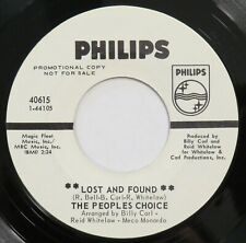 PEOPLES CHOICE Lost And Found PHILIPS 45 northern soul promo VG+ HEAR