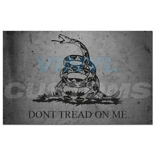 "Dont Tread On Me Vinyl Decal Sticker Molon Labe Tactical Subdued - 8"" in."