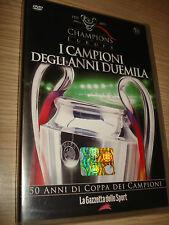 DVD N°10 CHAMPIONS OF EUROPE I CAMPIONI DEGLI ANNI 2000 GAZZETTA DELLO SPORT
