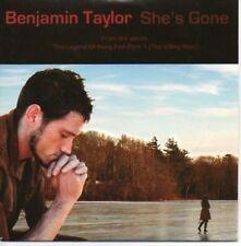 (AH314) Bernjamin Taylor, She's Gone - DJ CD