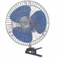 "12V  Oscillating Fan with Clamp 6"" 150mm Blade - Truck, Boat, Van, Bus"