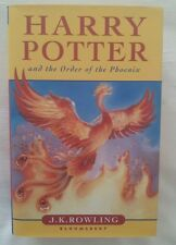 J K ROWLING HARRY POTTER AND THE ORDER OF THE PHOENIX 1/1 UK HB/DJ 2003 NEW