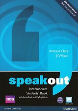 SPEAKOUT Intermediate Students Book with DVD ActiveBook & MyEnglishLab @NEW@