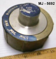 Stainless Steel Plug with Threaded Coupling