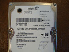 "Seagate ST9120821AS 9W3184-022 Site:WU FW:7.24 120gb 2.5"" Sata Hard Drive"