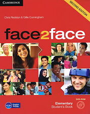 Cambridge face 2 face elementary student's book with dvd-rom second edition @NEW @