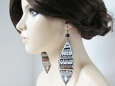 Ethnic Earrings Ethnic Jewelry Tribal Jewelry Afrocentric Earrings Afrocentric J