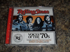 Rolling Stone Voices of the 70's CD Van Morrison James Taylor Carole King Jim Cr