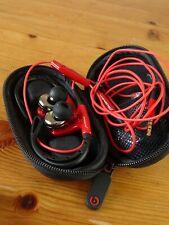 Power Beats by Dr. Dre Powerbeats MONSTER Ear-Hook Headphones Earphones W/ Case