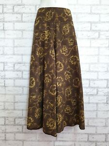 New Ladies Wide Leg Pants Palazzo Lagenlook Bohemian Gypsy Hippie Trousers WLCT