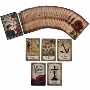 40pcs Under the Roses Lenormand Cards Deck the Clock Tower LOVE Oracle Tarot UK