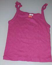 Camisa Camiseta de tirantes rosa frambuesa camiseta 3 años PETIT BATEAU verano