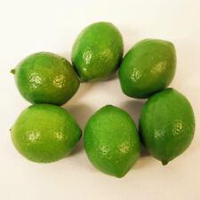 6pcs Limes Lemons Home Decorative props Plastic Artificial Fruit Imitation Fake