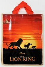Disney Lion King Reusable Bag Simba Pumbaa Timon Shopping Tote