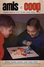 Revue Amis-Coop 137  / 1972     Pas de Calais.  Arques