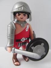 Playmobil Figura Soldado Romano/Gladiador Con Casco, Escudo Redondo Sword & Nuevo
