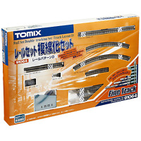 Tomix 91064 Rail Set Double - Tracking Set (Track Layout D) - N