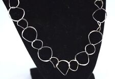 EXQUISITE ITALY STERLING SILVER NECKLASE 11 GRAMS